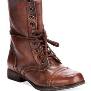 Women's Steve Madden Troopa Combat Boots H38